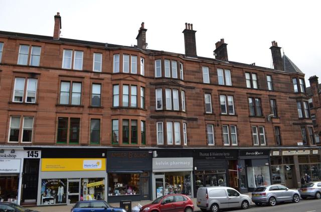 Thumbnail Flat to rent in 2/2 155 Hyndland Road, Hyndland, Glasgow, 9Ja