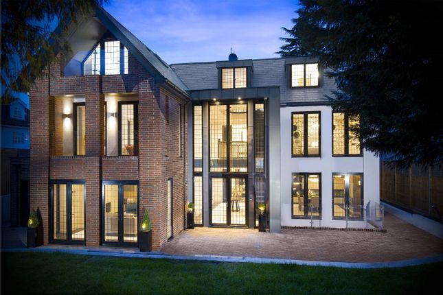 Thumbnail Detached house for sale in Hadley Wood, Barnet, Hertfordshire