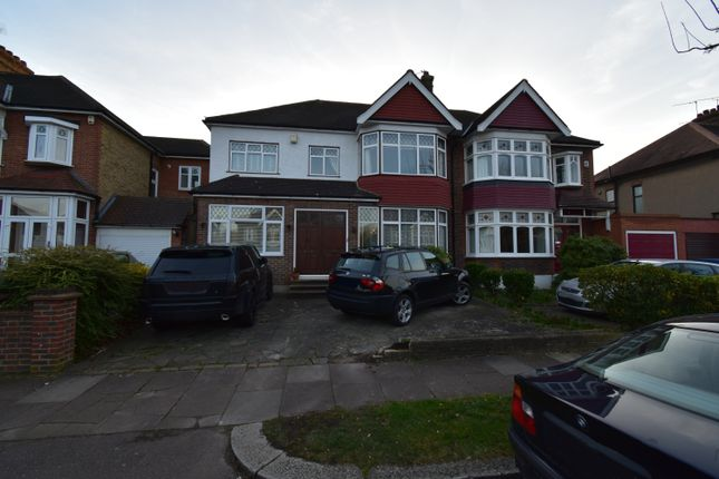 Thumbnail Semi-detached house to rent in Park Drive, Winchmore Hill