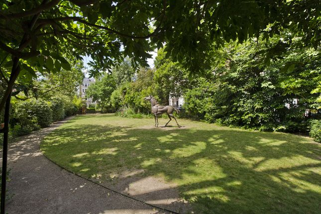 Communal Garden of Lexham Gardens, London W8