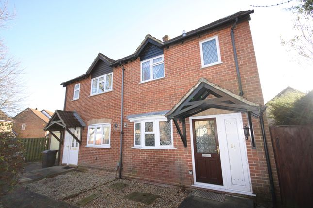 2 bed semi-detached house to rent in Fokerham Road, Thatcham RG19
