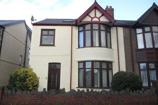 Thumbnail Semi-detached house for sale in Beechwood Road, Port Talbot, Neath Port Talbot.