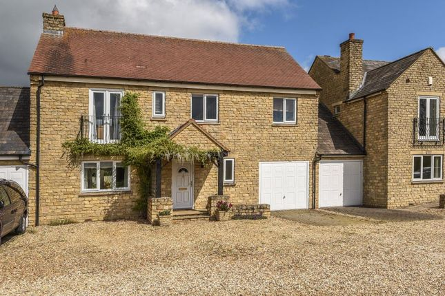 Thumbnail Link-detached house for sale in James Court, Banbury Road, Finmere