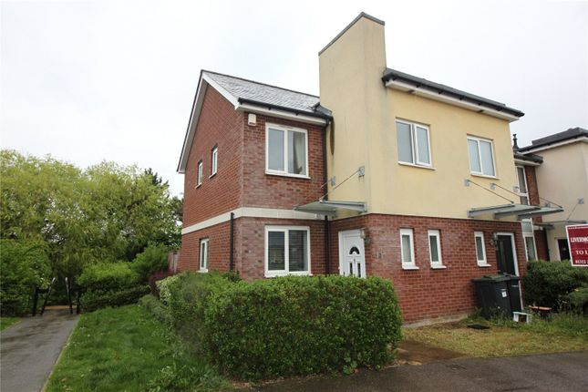 Thumbnail End terrace house to rent in Lister Drive, Northfleet, Gravesend, Kent