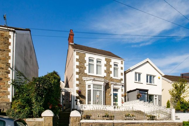 Thumbnail 3 bed detached house for sale in Vicarage Road, Morriston, Swansea