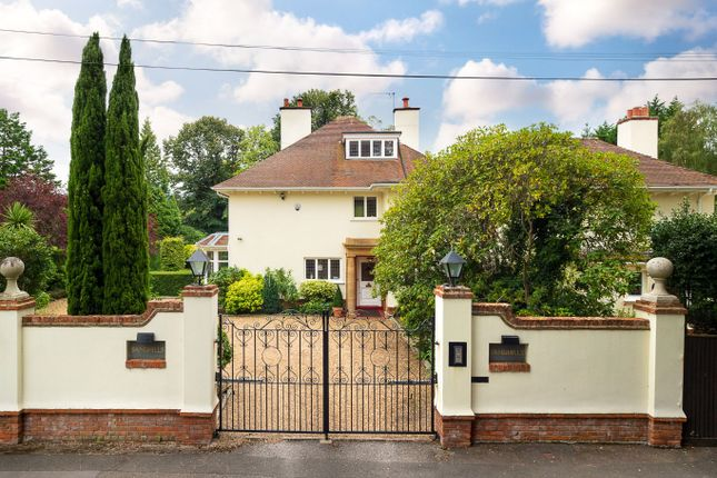 Thumbnail Detached house for sale in Cross Road, Sunningdale, Ascot