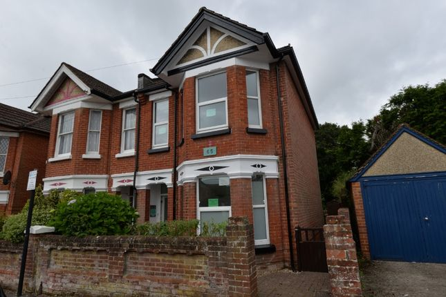 Thumbnail Semi-detached house for sale in Highfield Crescent, Southampton