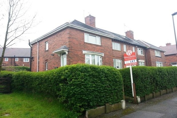 Thumbnail Semi-detached house to rent in Ridgeway Drive, Gleadless, Sheffield