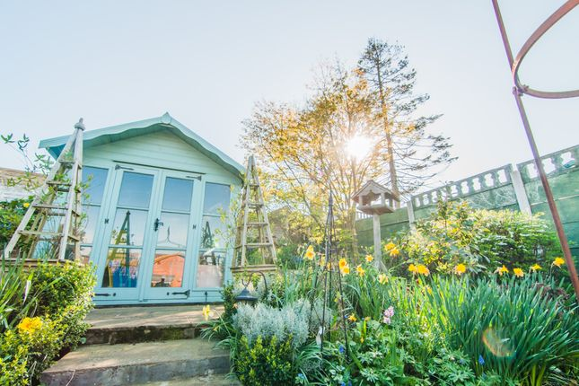 Summerhouse And Flowers
