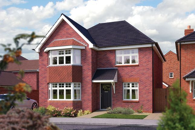 "Thumbnail Detached house for sale in ""The Oxford"" at Ashlawn Road, Rugby"