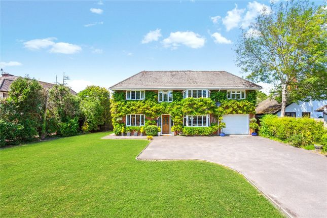 Thumbnail Detached house for sale in Milford Road, Lymington
