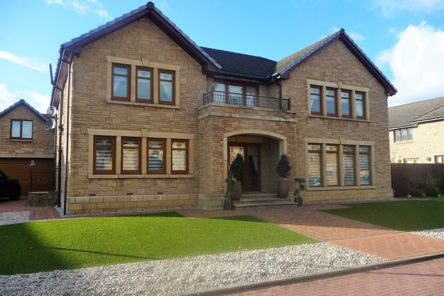 Thumbnail Detached house for sale in Captains Walk, Lanarkshire