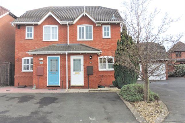 Semi-detached house in  Celandine  Kettlebrook  Tamworth  Birmingham
