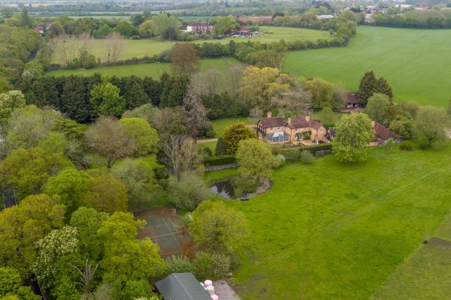 Thumbnail Detached house for sale in Moss End, Warfield, Berkshire