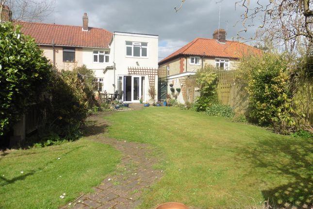 Thumbnail End terrace house for sale in Hayes Lane, Fakenham