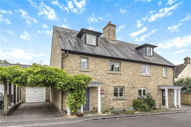 Thumbnail Semi-detached house for sale in Folly Lane, Blandford St. Mary, Blandford Forum, Dorset