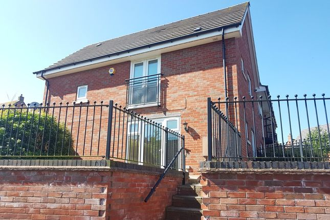 Thumbnail Town house to rent in Padside Close, Hamilton, Leicester
