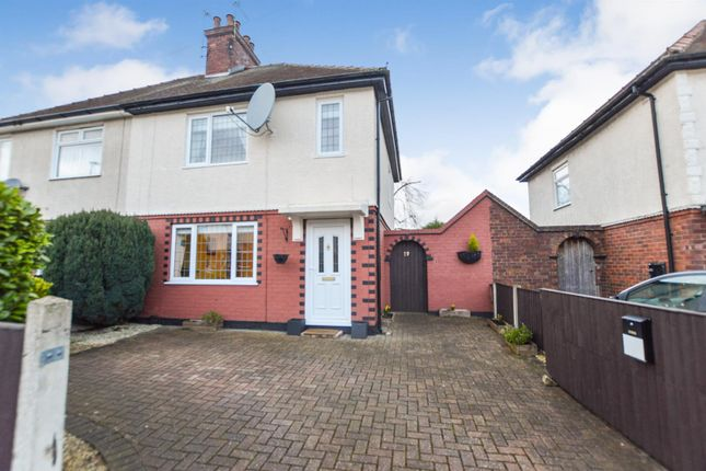 Semi-detached house for sale in Oak Street, Skegby, Sutton-In-Ashfield