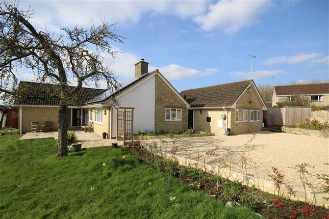 Thumbnail Detached bungalow for sale in Preston, Cirencester