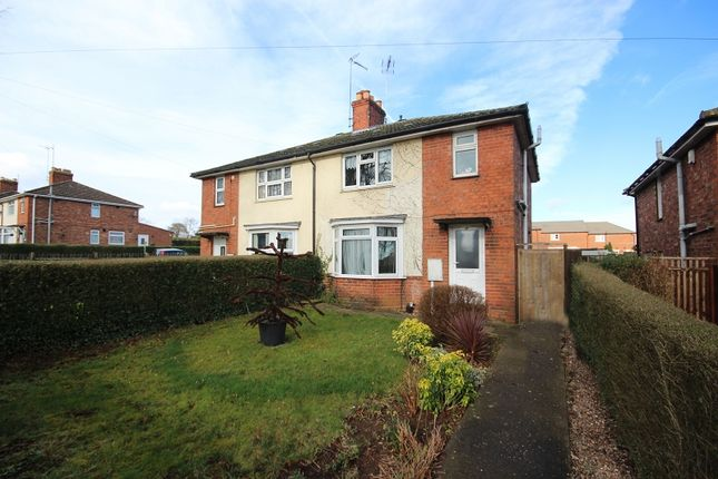 Thumbnail Semi-detached house for sale in Finedon Road, Wellingborough, Northamptonshire.