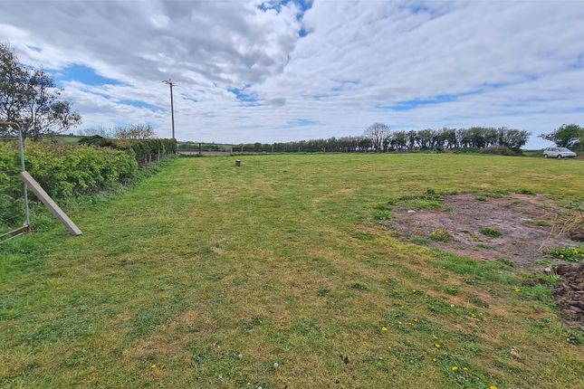 Thumbnail Land for sale in Upper Thornton, Milford Haven
