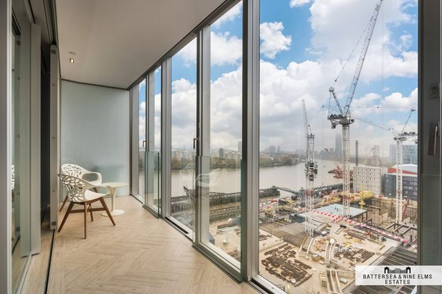 Thumbnail Flat for sale in Circus Road West, London