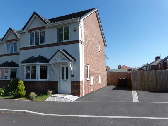 Thumbnail Detached house for sale in Grange Court, Mancot, Deeside, Flintshire
