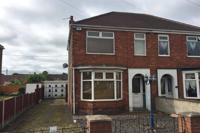 Thumbnail Semi-detached house to rent in St Hugh's Crescent, Scunthorpe