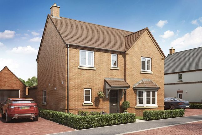Thumbnail Detached house for sale in Brownes Way, Hallow, Worcester