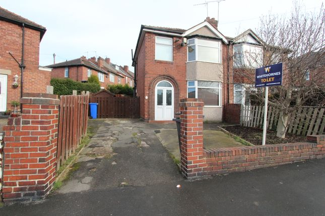 Thumbnail Semi-detached house to rent in Bramley Park Road, Sheffield
