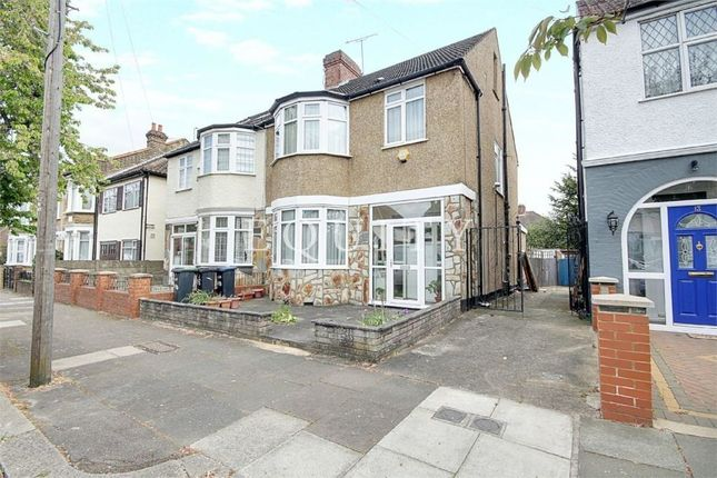 Thumbnail Semi-detached house for sale in Halstead Road, Winchmore Hill