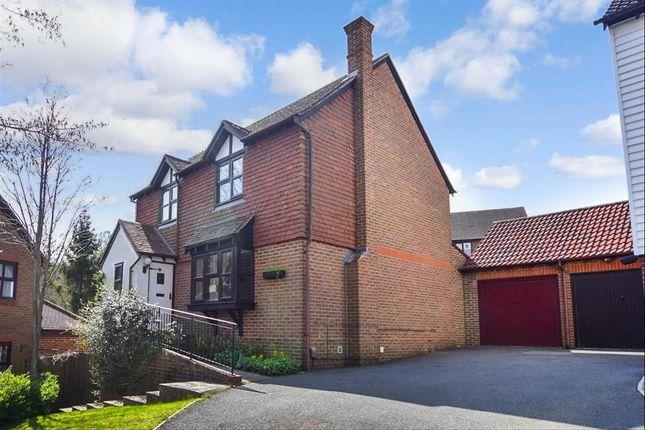 Thumbnail Detached house for sale in Carpinus Close, Walderslade Woods, Chatham, Kent