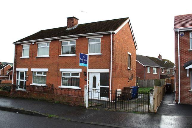 Thumbnail Semi-detached house to rent in Orangefield Avenue, Orangefield, Belfast