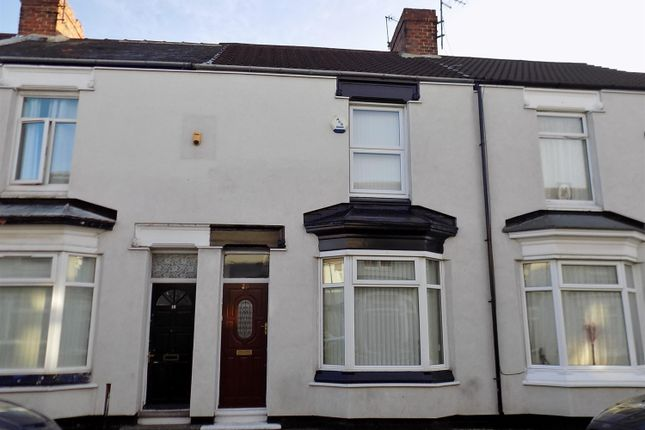 Thumbnail Terraced house for sale in Romney Street, Middlesbrough