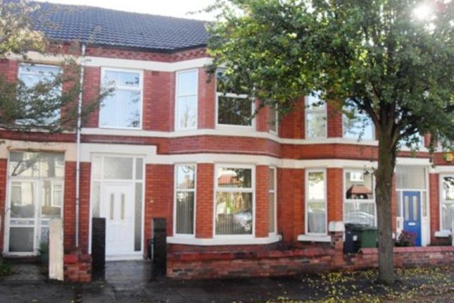 Thumbnail Terraced house to rent in Mount Road, Tranmere, Wirral
