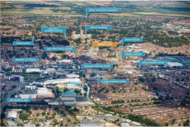 Thumbnail Land for sale in Grantham Street, Lincoln