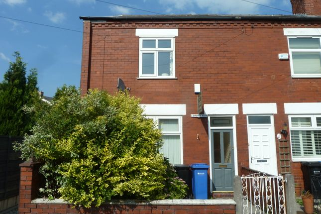 Thumbnail End terrace house to rent in Neville Street, Hazel Grove, Stockport