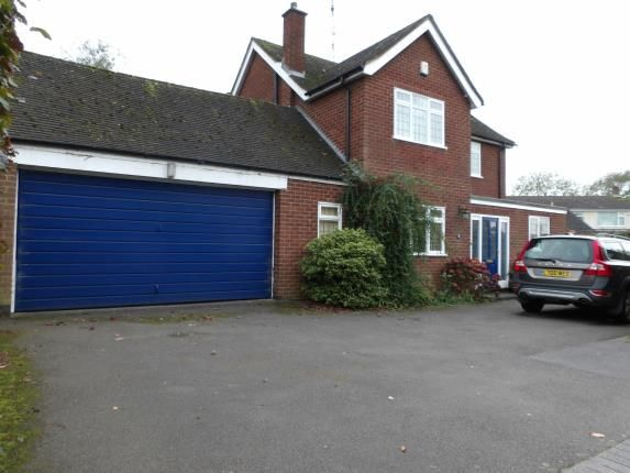 Thumbnail Detached house for sale in Barns Close, Kirby Muxloe, Leicester, Leicestershire