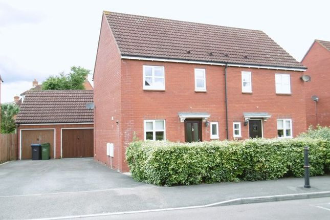 Thumbnail Semi-detached house to rent in Honeysuckle Close, Calne