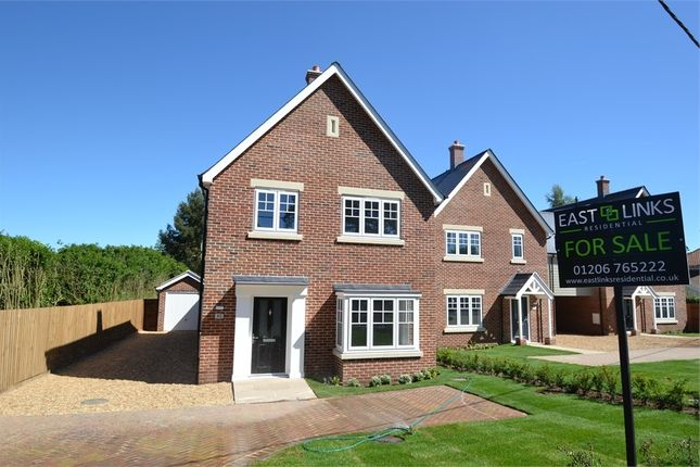 Thumbnail Detached house for sale in Warren Lane, Stanway, Colchester, Essex