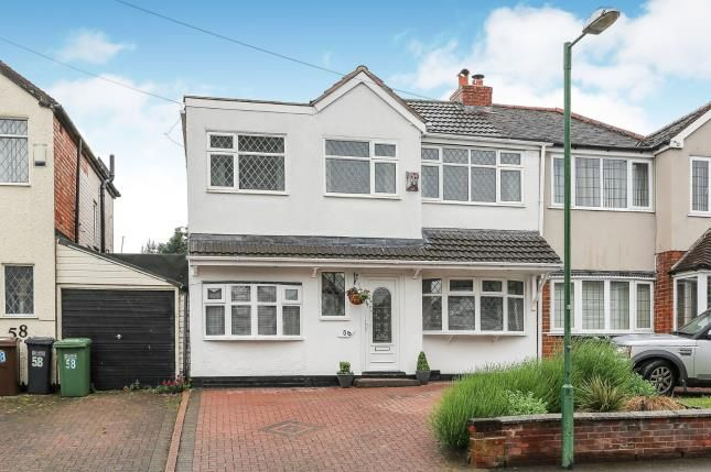 Semi-detached house for sale in Rangoon Road, Solihull, West Midlands, Birmingham