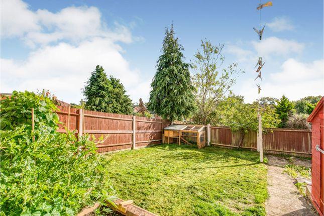 Rear Garden of Gaywood Drive, Newbury RG14