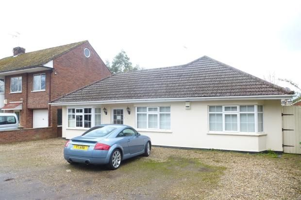 Thumbnail Detached bungalow for sale in Tollhouse Cottages, Dereham Road, New Costessey, Norwich