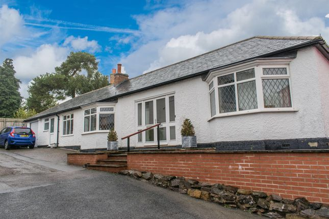 Thumbnail Detached bungalow for sale in High Street, Great Glen, Leicester