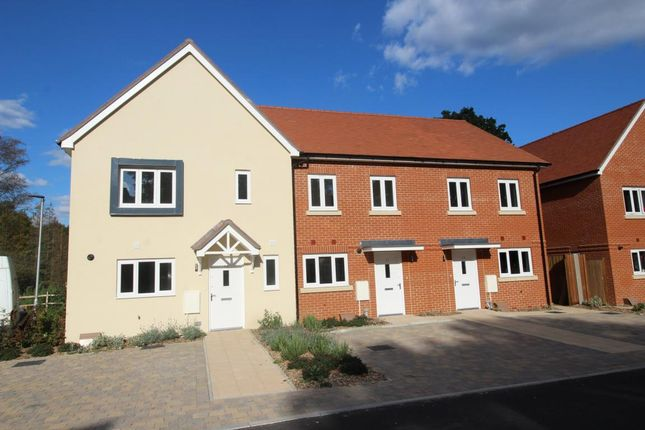 Thumbnail End terrace house for sale in Chobham, Woking