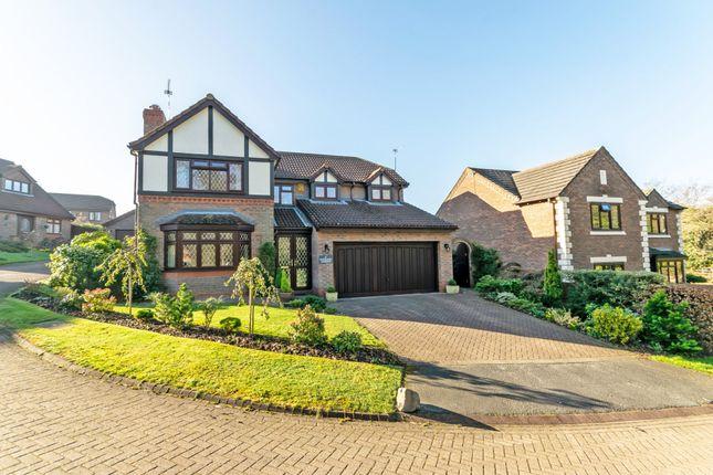 Thumbnail Detached house for sale in Stoneacre Gardens, Appleton, Warrington