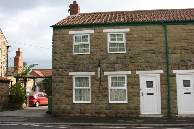 Thumbnail End terrace house to rent in Main Street, East Ayton, Scarborough