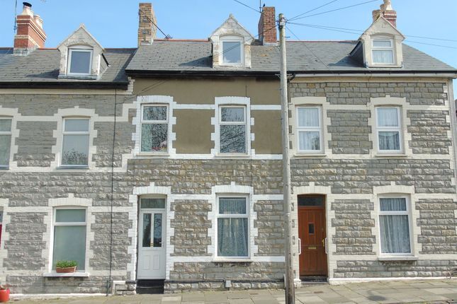 Thumbnail Terraced house for sale in Arcot Street, Penarth