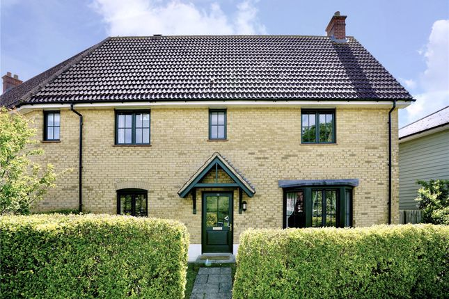 Semi-detached house for sale in South Park Drive, Papworth Everard, Cambridge, Cambridgeshire
