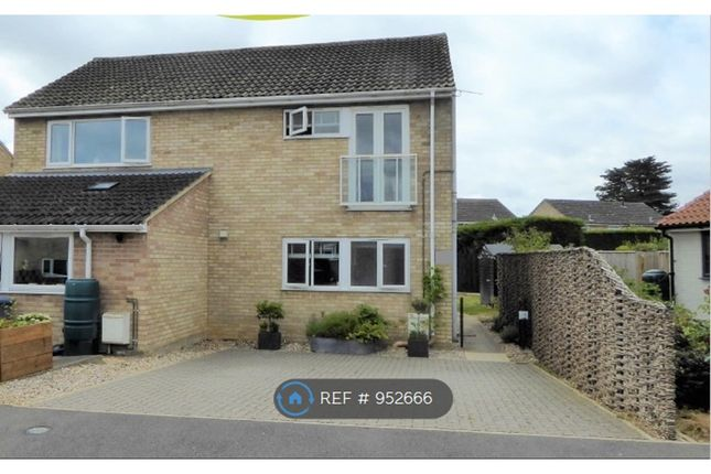 2 bed semi-detached house to rent in Orchard Close, Woodbridge IP12